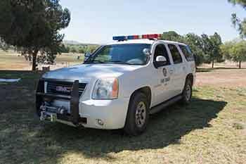park ranger vehicle